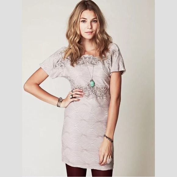 Free People Dresses & Skirts - Free People New Romantics Bell Shift Bodycon Dress